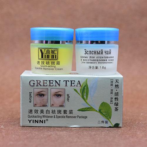 کرم سه قلو چای سبز